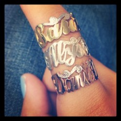 nameplate rings