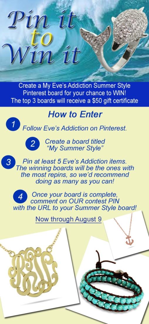 Pinterest Contest Design