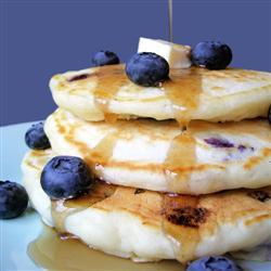 blueberry panckakes