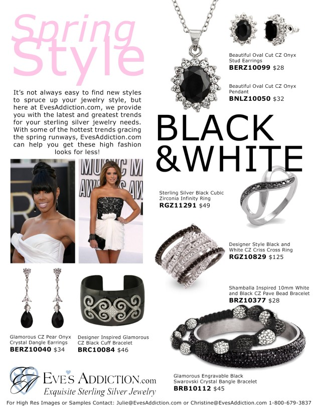 Spring Style: Black and White