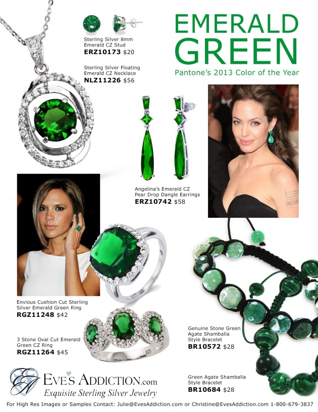 Spring Style: Emerald Green