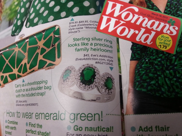 womans world emerald
