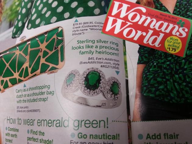 womans world emerald