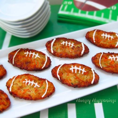 football-zucchini-fritters